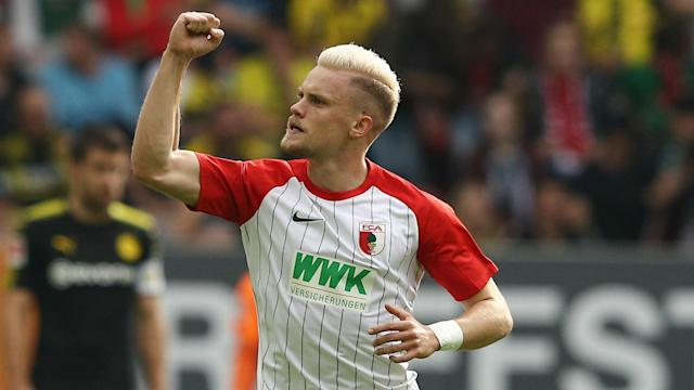 Philipp Max has accumulated 10 assists in the Bundesliga this season