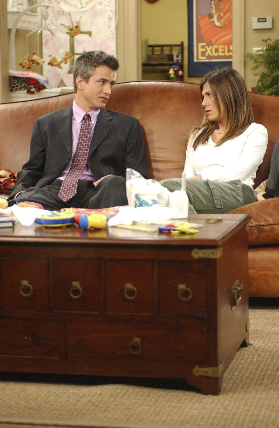 """<p>Best known for his role in <em>My Best Friend's Wedding</em>, Dermot Mulroney played Rachel's coworker-turned-love-interest for three episodes in season 9. The star recently shared how he started getting recognized by younger fans after Netflix started streaming the show: """"I was suddenly being shouted at on the street, 'Hey Gavin!' and I'm like, 'Who the f*** is Gavin?'"""" he told <em><a href=""""https://www.youtube.com/watch?v=XGN7vJ6rZ_w"""" rel=""""nofollow noopener"""" target=""""_blank"""" data-ylk=""""slk:Wired"""" class=""""link rapid-noclick-resp"""">Wired</a>.</em></p>"""