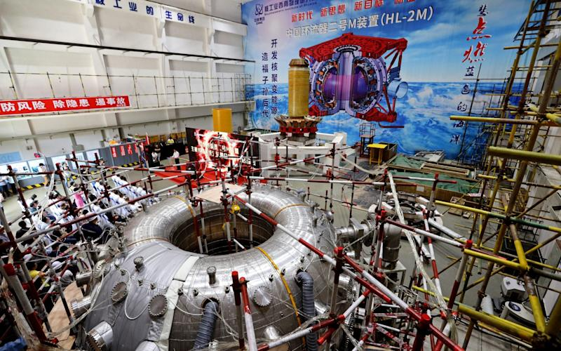 A nuclear fusion project in China, one of many vying to become the first - Visual China Group