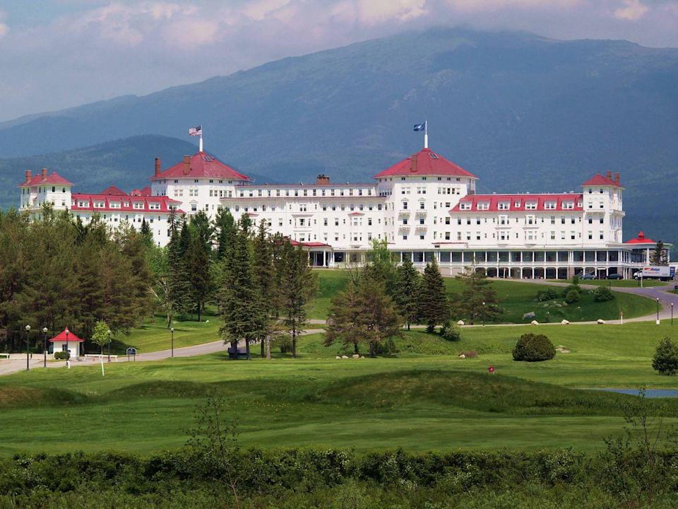 "<p>Designed by Charles Alling Gifford and constructed at the turn of the twentieth century,<a href=""https://www.omnihotels.com/hotels/bretton-woods-mount-washington"" rel=""nofollow noopener"" target=""_blank"" data-ylk=""slk:this Bretton Woods, New Hampshire, hotel"" class=""link rapid-noclick-resp""> this Bretton Woods, New Hampshire, hotel </a>was brainchild of coal magnate Joseph Stickney. Not winterized until 1999, the Italian-inspired hotel has hosted presidents and other celebrities and was the site of the 1944 Bretton Woods monetary summit at which the World Bank and International Monetary Fund were established. It was declared a national landmark in 1986 and is a member of Historic Hotels of America. </p>"