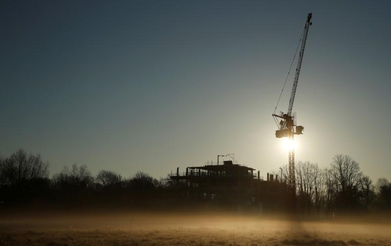 UK construction's crash eases only partially in May: PMI