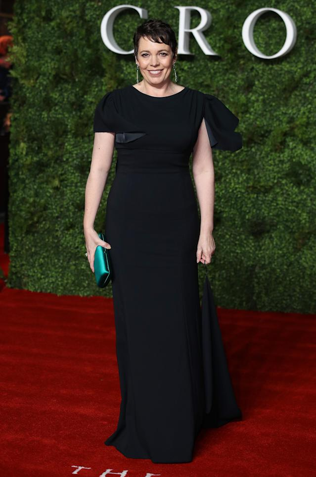 """Olivia Colman on the red carpet at """"The Crown"""" Season 3 World Premiere [Photo: Getty]"""