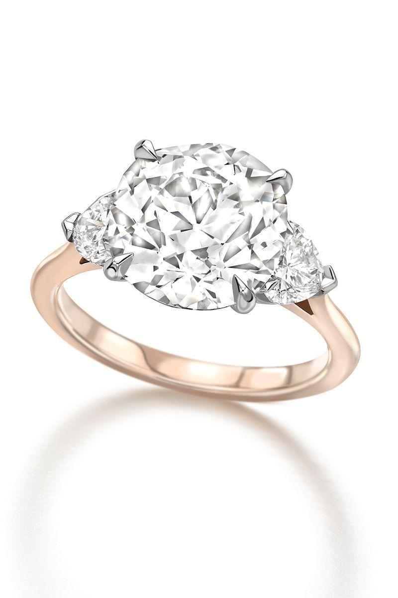 "<p><em><strong>Jessica McCormack</strong> Cushion Cut and Heart Diamond Engagement Ring from the Bridal Edit in 18K white and rose gold with a claw setting, price upon request, <a href=""http://www.jessicamccormack.com/"" rel=""nofollow noopener"" target=""_blank"" data-ylk=""slk:jessicamccormack.com"" class=""link rapid-noclick-resp"">jessicamccormack.com</a>.</em></p><p><a class=""link rapid-noclick-resp"" href=""http://www.jessicamccormack.com/"" rel=""nofollow noopener"" target=""_blank"" data-ylk=""slk:SHOP"">SHOP</a></p>"