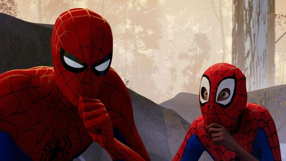 "<p> Spider-Man: Into the Spider-Verse understands Spider-Man than any other Spider-Man movie: that he's a teenager struggling with Uncle Ben's famous adage: ""With great power comes great responsibility."" </p> <p> Produced by Phil Lord and Chris Miller (of 21 Jump Street and The Lego Movie fame), Spider-Verse makes for a beautifully animated romp through multiple dimensions that gives dozens of knowing nods to Spider-Man films and TV shows of the past, yet never excludes those viewers who may not have seen every Spidey outing. </p> <p> While the story centres on Miles Morales, Peter Parker's still here, thanks a split in the multiverse. As a result, we have multiple Spider-Men (including an older, chubbier Parker, Spider-Gwen, Spider-Ham, and even Nicholas Cage's noir Spider-Man) going up against Kingpin. The premise may sounds complicated, but Spider-Verse makes things seem so simple thanks to a hilarious and wip-smart script that has huge amounts of heart, all while toying with superhero convention. Plus, the animation is mesmerising, with every frame having been painstakingly crafted by the astoundingly good animation team. Did we mention this won the Oscar for Best Animation? Deservedly so. </p> <p> <strong>Best superhero moment: </strong>Peter Porker (AKA, Spider-Ham, voiced by John Mulaney) asking Miles whether animals can talk in his dimension, ""cause I don't want to freak [anybody] out."" </p>"