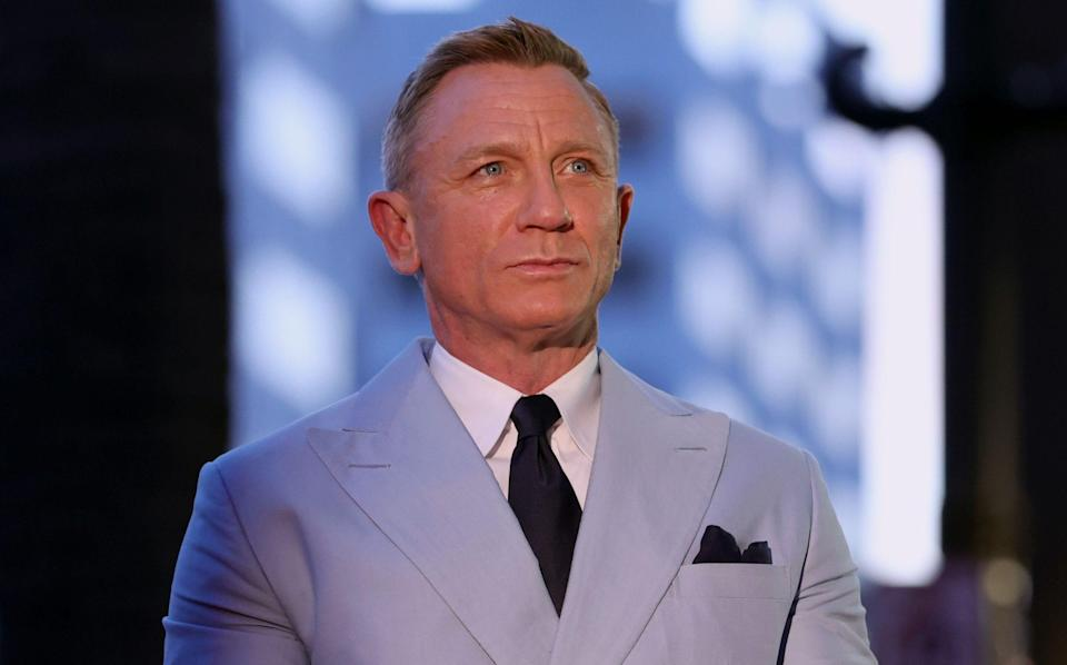 Daniel Craig attends the Hollywood Walk of Fame Star Ceremony - Rich Fury