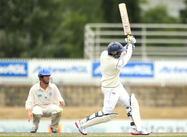 TM Dilshan of Sri Lanka bats during day two of the international tour match between the Chairman's XI and Sri Lanka at Manuka Oval on December 7, 2012 in Canberra, Australia.  (Photo by Brendon Thorne/Getty Images)