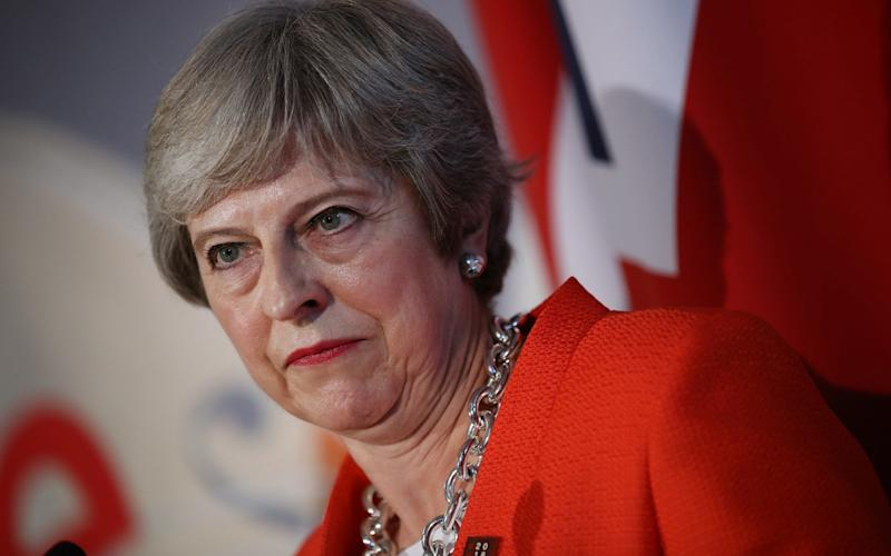 Theresa May is at loggerheads with Brussels again, as the European Commission stepped up its demands for unpaid customs duties. The demand arrives just days after the humiliating Salzburg summit. - Getty Images Europe