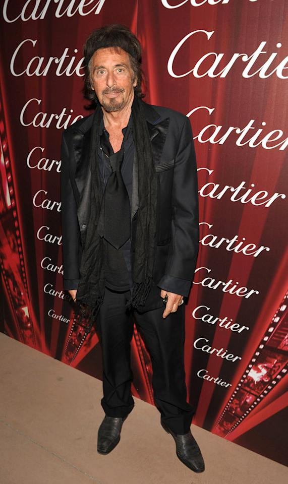 """<a href=""""http://movies.yahoo.com/movie/contributor/1800017701"""">Al Pacino</a> attends the 23rd Annual Palm Springs Film Festival awards gala on January 7,2012."""