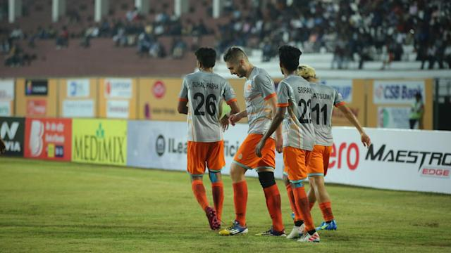 Chennai City FC pick up a crucial win away from home to climb up the I-League table....