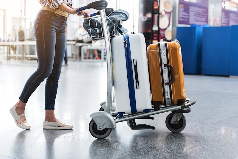 Shop reliable luggage sets at up to 80 percent off this weekend at Macy's. (Photo: Getty)
