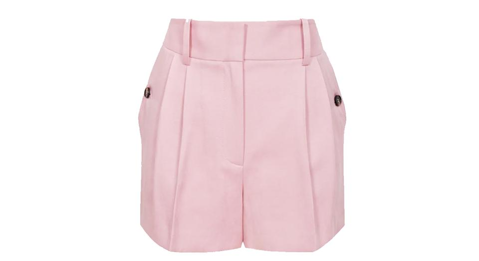EMBER Tailored Pleat Front Shorts