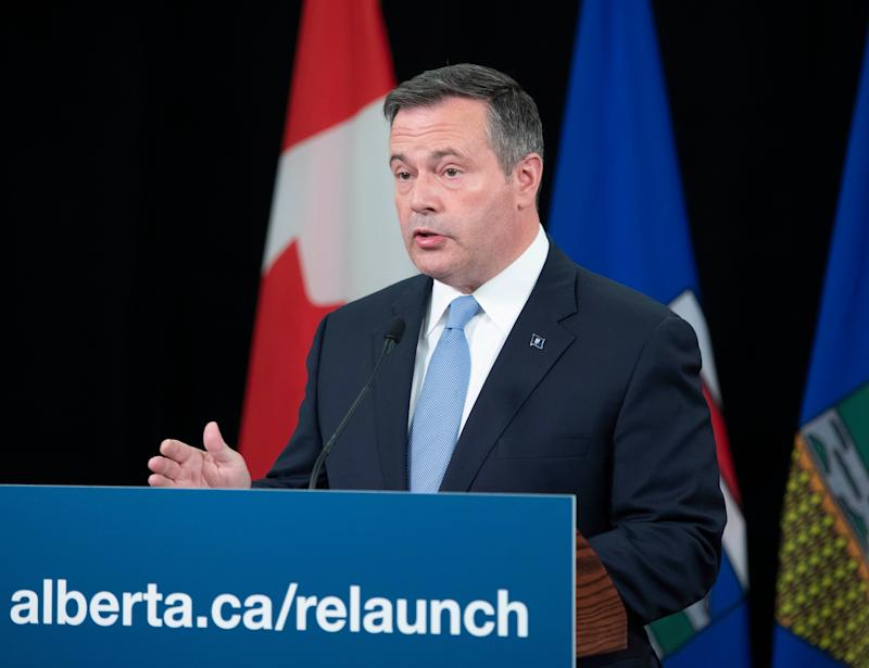 Alberta Premier Jason Kenney during a news conference on July 21, 2020. (Photo: Chris Scharz/Government of Alberta)