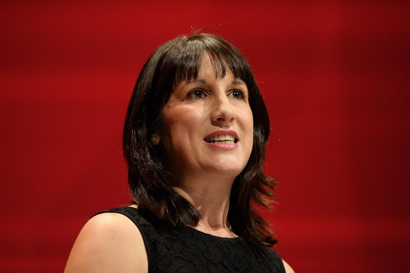 LIVERPOOL, ENGLAND - SEPTEMBER 25: Labour MP Rachel Reeves leads a tribute to the murdered Labour MP Jo Cox on the first day of the Labour Party Conference in the Exhibition Centre Liverpool on September 25, 2016 in Liverpool, England. Party leader Jeremy Corbyn will hope to re-unite the party after being re-elected leader yesterday. (Photo by Leon Neal/Getty Images)