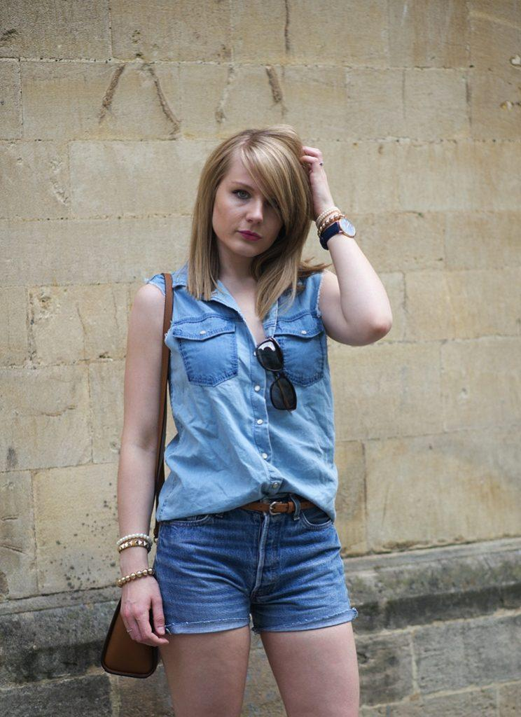 Lorna Burford runs the Jeans Blog and has been
