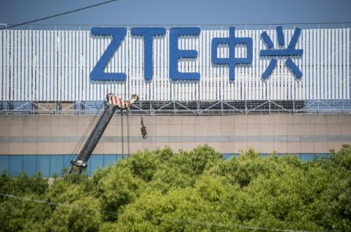 Trading in ZTE's shares was suspended in April