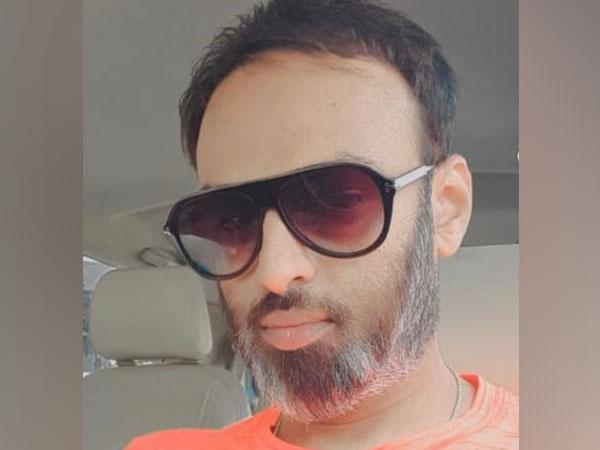 Ravi, the man arrested by CCB for alleged involvement in drug peddling. Photo/ANI