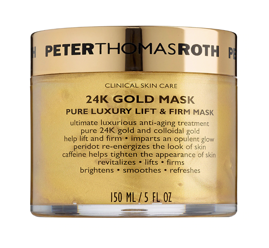 24K Gold Mask Pure Luxury Lift & Firm Mask by Peter Thomas Roth (Photo: Sephora)