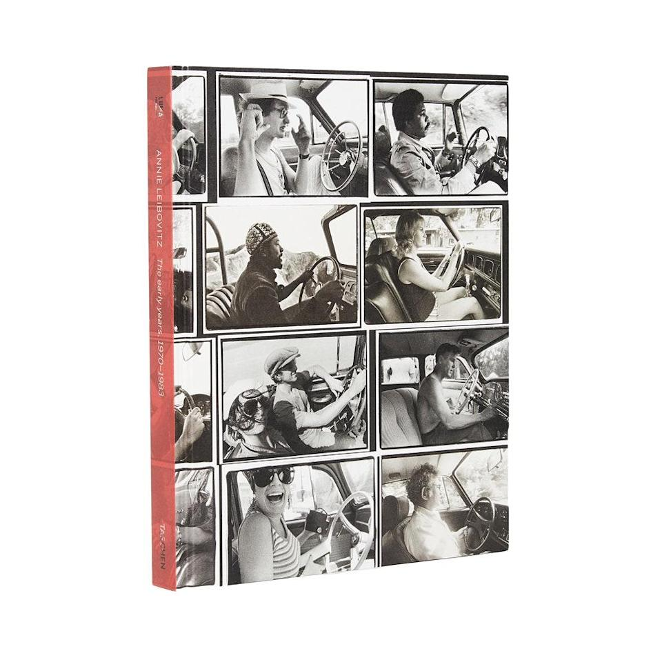 "Gift the photography lover this archival book of photos from Annie Leibovitz' early years, chronicling the legendary portrait photographer's defining work from 1970 to 1983, which cemented her as one of the greats of our time. $50, Shopbop. <a href=""https://www.shopbop.com/annie-leibovitz-early-years-19701/vp/v=1/1540432485.htm"" rel=""nofollow noopener"" target=""_blank"" data-ylk=""slk:Get it now!"" class=""link rapid-noclick-resp"">Get it now!</a>"