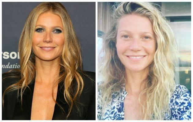 Gwyneth Paltrow posted this make-up free photo in celebration of her 44th birthday and she looks amazing. Source: Getty