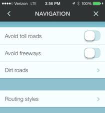 Waze Gas Stations Around You screen