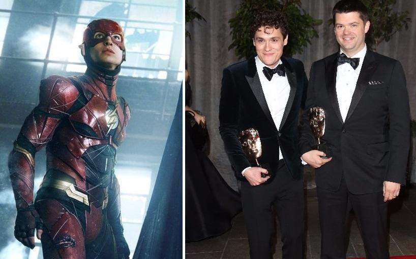 Are Phil Lord and Christopher Miller set to call the shots on Ezra Miller's 'The Flash'? (Credit: Warner Bros, WENN)