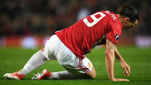 The Manchester United boss is fearing the worst after two of his stars picked up injuries in Thursday's Europa League match