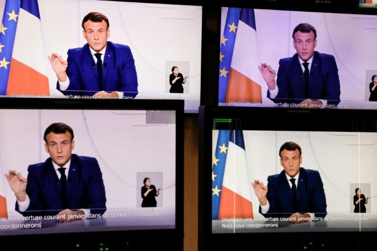 France's Macron announced a partial lifting of coronavirus restrictions