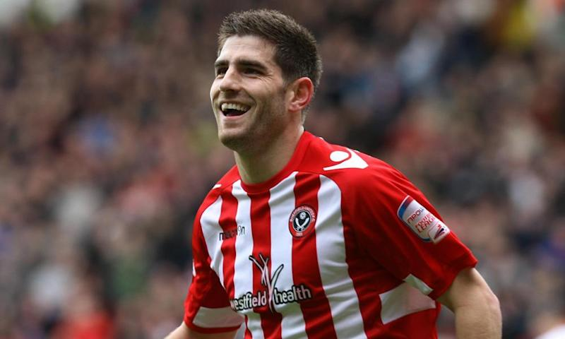 Ched Evans, here in action for Sheffield United in 2012, is set to rejoin the club from Chesterfield.