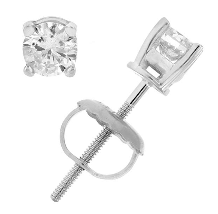 Vir Jewels 1/2 cttw Certified Diamond Stud Earrings. (Photo: Amazon)
