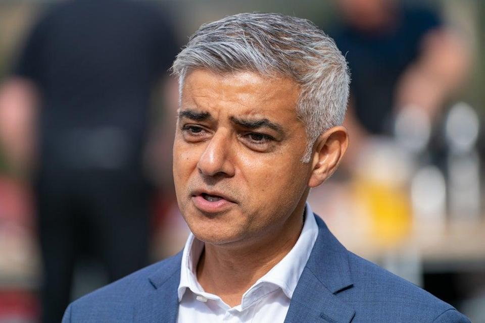Sadiq Khan warns against delaying action on climate change (Dominic Lipinski/PA) (PA Wire)