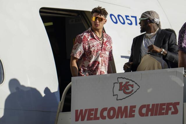 Chiefs quarterback Patrick Mahomes is in a great position when it comes to contract negotiations. (AP Photo/David J. Phillip)