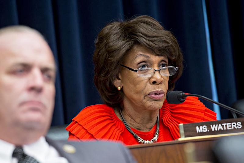 Maxine Waters Wasn't Kidding About Facebook Token Moratorium