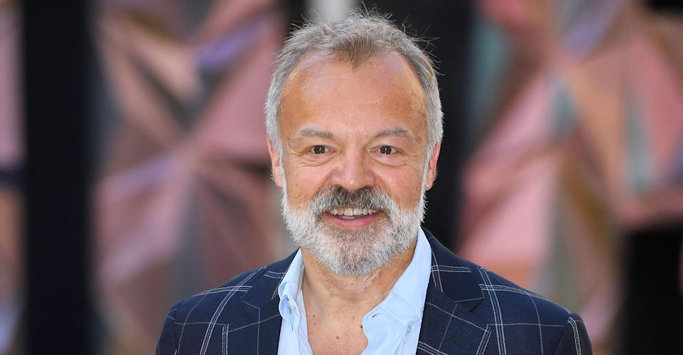 Graham Norton says he's done with the dating app Tinder. (REX/Shutterstock).