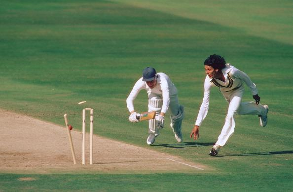 England v Pakistan, 3rd Test, Headingley, Aug 82 : News Photo