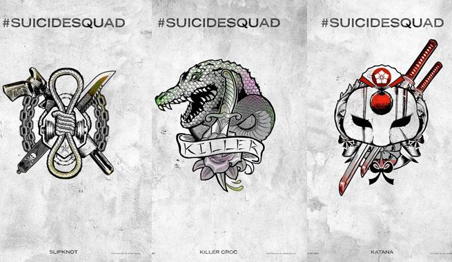 Suicide Squad Harley Quinns Tattoo Parlor Posters Released