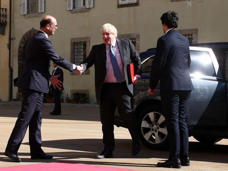 Who is to blame for Boris Johnson's repeated failures to meet with Russian diplomats?: EPA