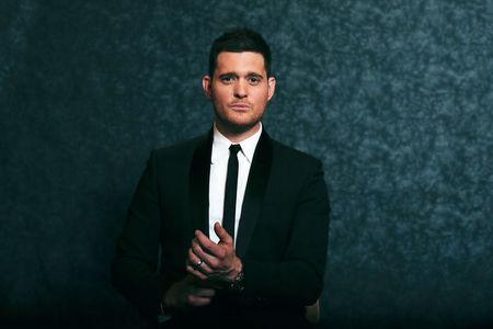 FILE PHOTO: Michael Buble poses for a portrait while promoting his new album 'Michael Buble: To Be Loved' in New York