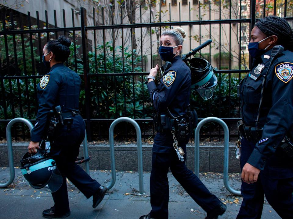 NYPD statistics show 112 per cent increase in shootings compared to last year (Afp/AFP via Getty Images)