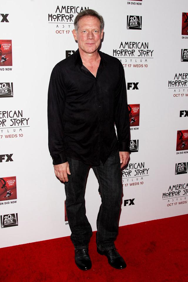 """Fredric Lehne attends the """"American Horror Story: Asylum"""" premiere held at Paramount Studios on October 13, 2012 in Hollywood, California."""