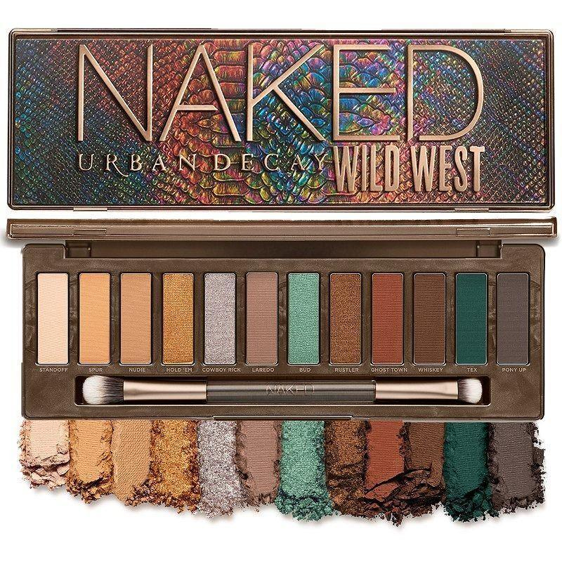 """<p><strong>Urban Decay Cosmetics</strong></p><p>ulta.com</p><p><strong>$49.00</strong></p><p><a href=""""https://go.redirectingat.com?id=74968X1596630&url=https%3A%2F%2Fwww.ulta.com%2Fp%2Fnaked-wild-west-eyeshadow-palette-pimprod2022436&sref=https%3A%2F%2Fwww.bestproducts.com%2Flifestyle%2Fg376%2Ftop-christmas-gift-ideas%2F"""" rel=""""nofollow noopener"""" target=""""_blank"""" data-ylk=""""slk:Shop Now"""" class=""""link rapid-noclick-resp"""">Shop Now</a></p><p>Need a gift for a beauty lover? You can't go wrong with a Naked Palette. The brand-new Naked Wild West Eyeshadow Palette features 12 neutral, green, and terracotta tones that make for soft, shimmery, and bold smoky-eye looks.</p>"""