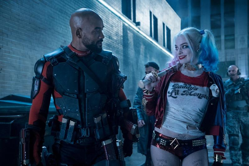 Never mind the reviews, smell the money... Smith and Robbie in 'Suicide Squad' (credit: Warner Bros)