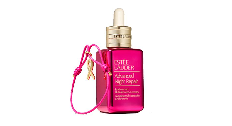 Estée Lauder Advanced Night Repair with Pink Ribbon Bracelet