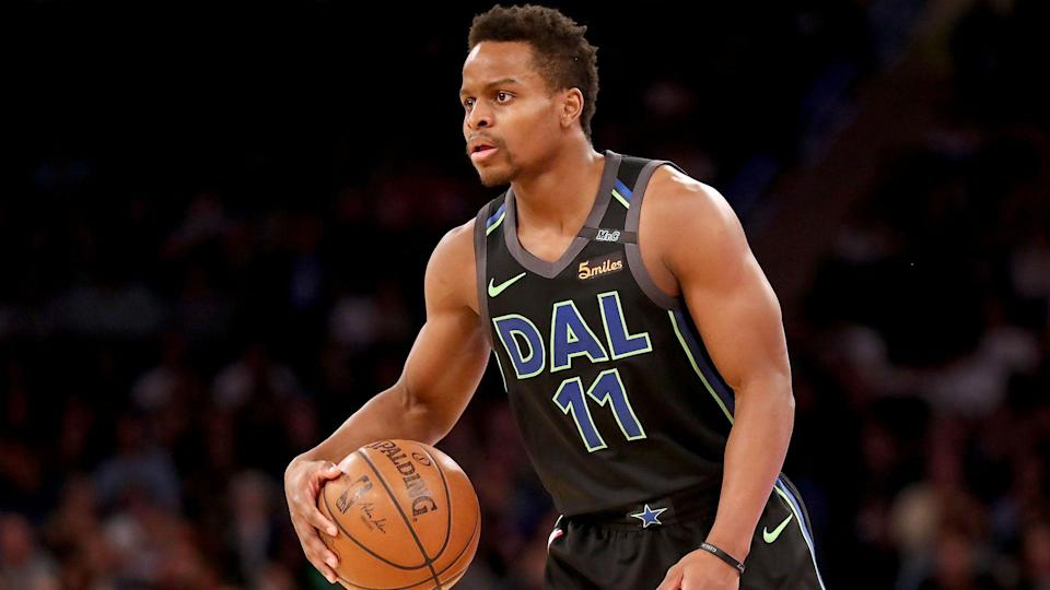 Yogi Ferrell appears to have settled on a new team. (AP)