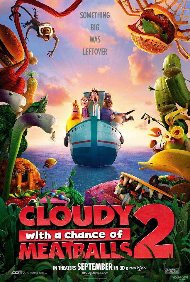 "Columbia Pictures' ""Cloudy With a Chance of Meatballs 2"" - 2013"