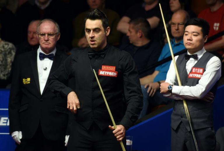 Ronnie O'Sullivan ended Ding Junhui's world championship dream but said afterwards without spectators it was like playing in a morgue