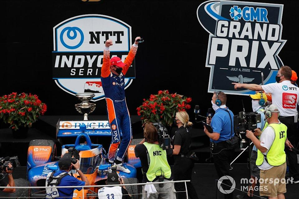 "Indianapolis-GP 1: P1 - 29 Punkte Vorsprung (Pagenaud)<span class=""copyright"">Phillip Abbott / Motorsport Images</span>"