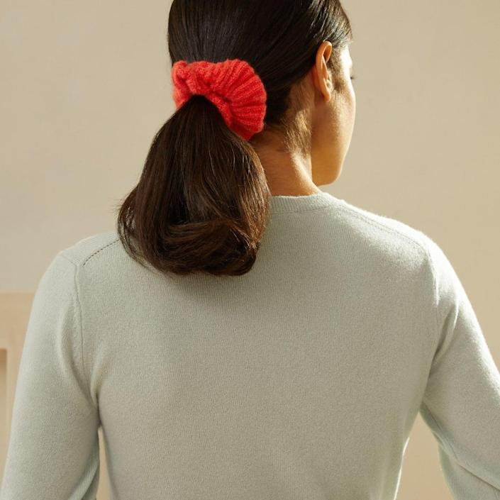 <p>This <span>Everlane Cashmere Scrunchie</span> ($25) is such a luxe present.</p>