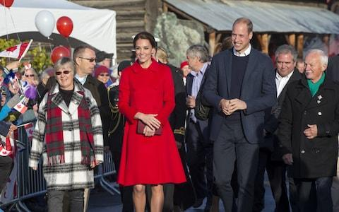 The Duchess of Cambridge and Duke of Cambridge visit Whitehorse during the Royal Tour of Canada  - Credit: WPA Pool
