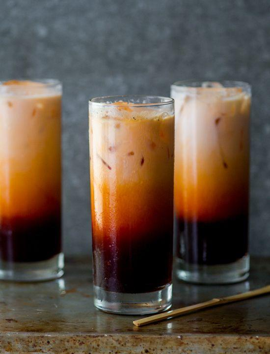 "<p>Customize this Thai favorite with half and half, whole milk, coconut milk, or sweetened condensed milk — this recipe works with them all!</p><p><strong><em>Get the recipe at <a href=""http://whiteonricecouple.com/recipes/thai-tea-recipe/"" rel=""nofollow noopener"" target=""_blank"" data-ylk=""slk:White on Rice Couple"" class=""link rapid-noclick-resp"">White on Rice Couple</a>.</em></strong></p>"