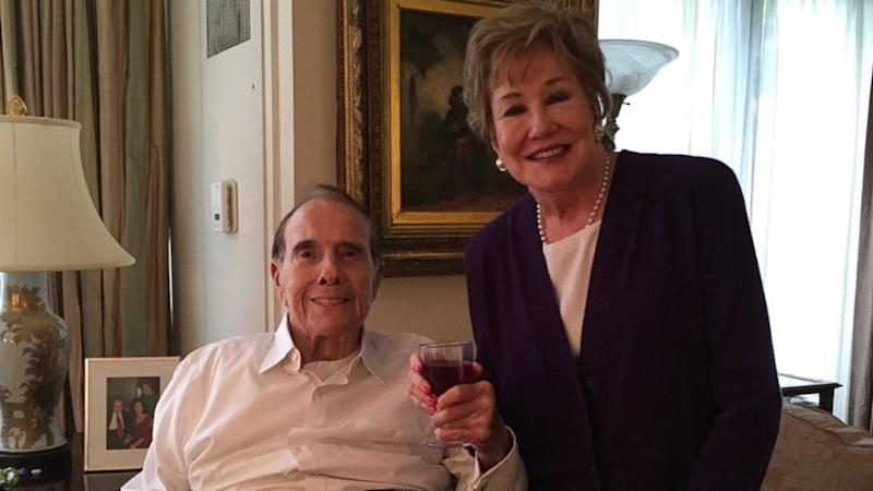 Bob Dole released from hospital: Reunited with his dogs and ready for a cocktail